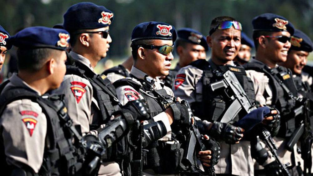 Cảnh sát Indonesia, khám phá, âm mưu đánh bom dịp Quốc khánh