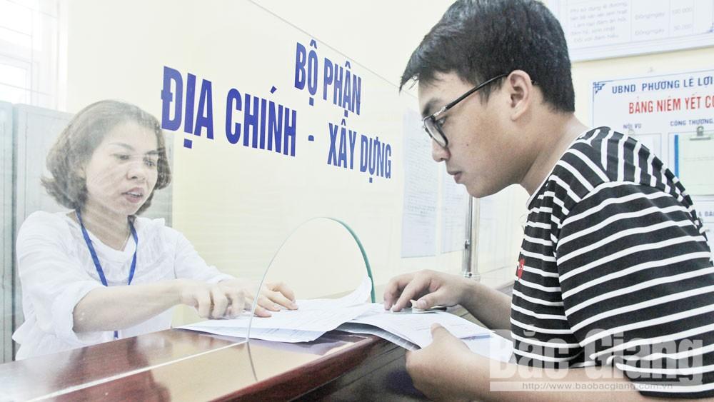 Bắc Giang, thủ tục hành chính,  một đầu mối, giải quyết, tổ chức, công dân, 4 tại chỗ