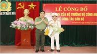 Bộ Công an công bố quyết định bổ nhiệm Trưởng Công an TP Thanh Hóa