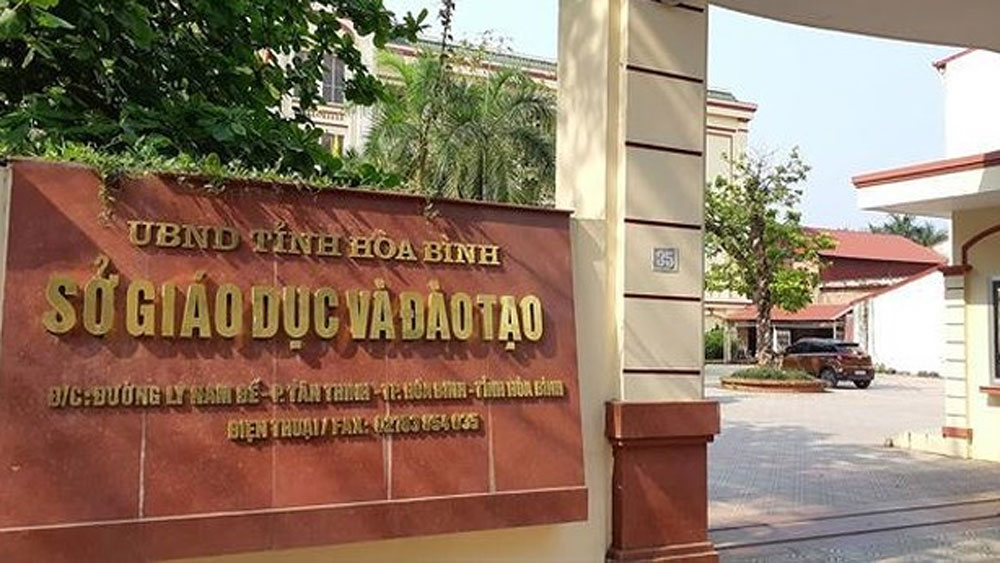 Khai trừ Đảng, hai cán bộ nâng điểm thi THPT quốc gia, Sở GD-ĐT Hòa Bình