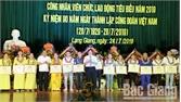 Lạng Giang tôn vinh 104 đoàn viên công đoàn tiêu biểu