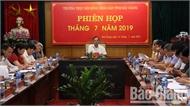 Phiên họp tháng 7 của Thường trực HĐND tỉnh: Rút kinh nghiệm công tác tổ chức kỳ họp thứ 7