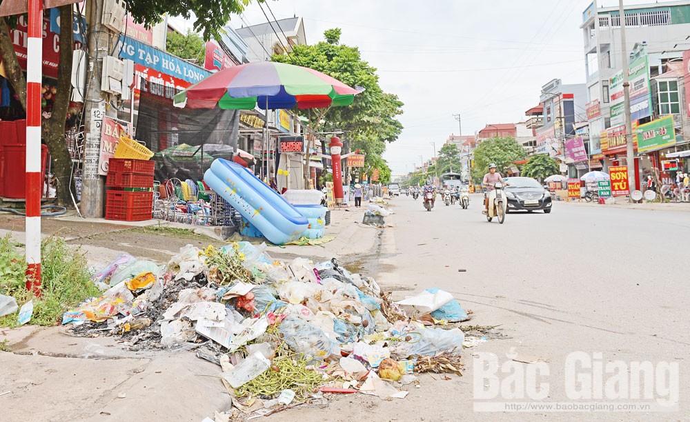Bắc Giang, thị trấn Chũ,  Lục Ngạn, rác thải, bài toán khó, ô nhiễm môi trường, giải pháp căn cơ