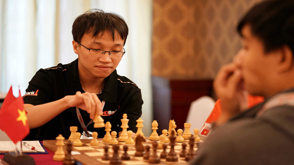 GM Son joins teammate Liem at FIDE Chess.com Grand Swiss