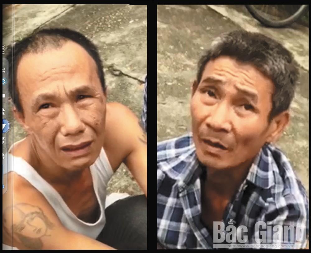 triệt phá tụ điểm ma túy tại bến phà Chi Ly, phường Trần Phú, TP Bắc Giang. Bắc Giang