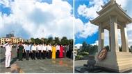 Các đồng chí lãnh đạo tỉnh Bắc Giang dâng hoa, viếng các Anh hùng liệt sĩ