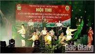 Trường Quân sự Quân đoàn 2 thi tuyên truyền về chống tra tấn