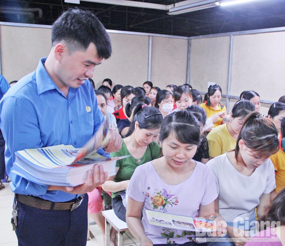 Bắc Giang, Công đoàn, bảo vệ quyền, lợi ích, đoàn viên, người lao động