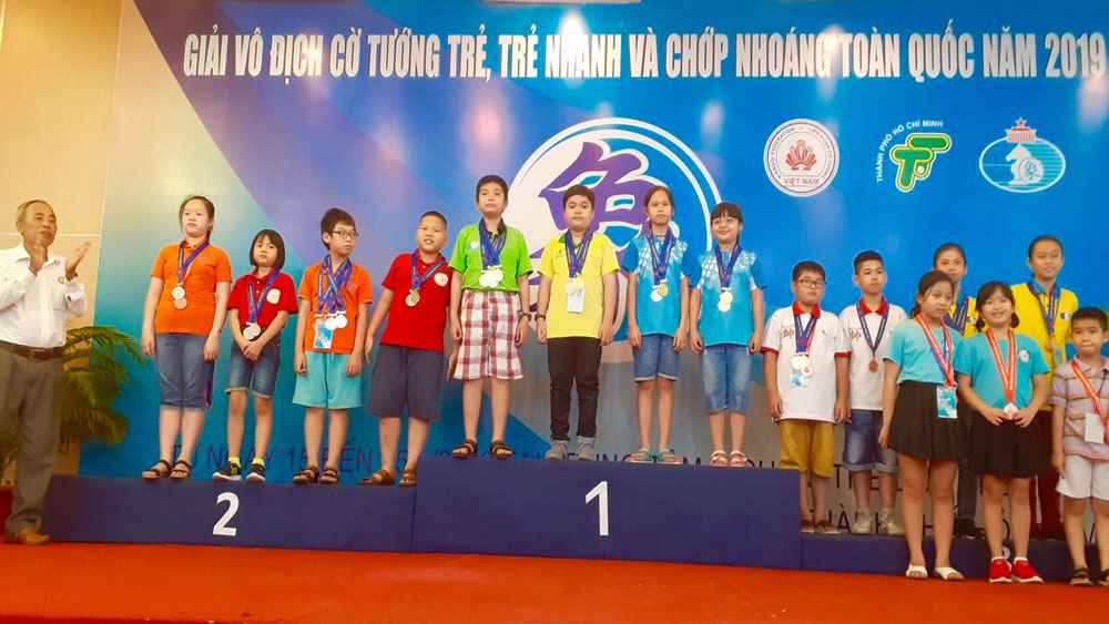 Bac Giang win 9 medals at national youth xiangqi championship