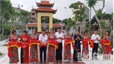 Khánh thành nhà bia tưởng niệm các Anh hùng liệt sĩ phường Lê Lợi