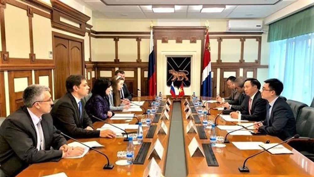 Vietnam, Russia's Primorye region, economic cooperation, economy-trade, Russian locality, Vietnamese businesses, strategic partnership