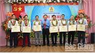 Công đoàn Sở Xây dựng và huyện Sơn Động tôn vinh đoàn viên công đoàn, người lao động tiêu biểu