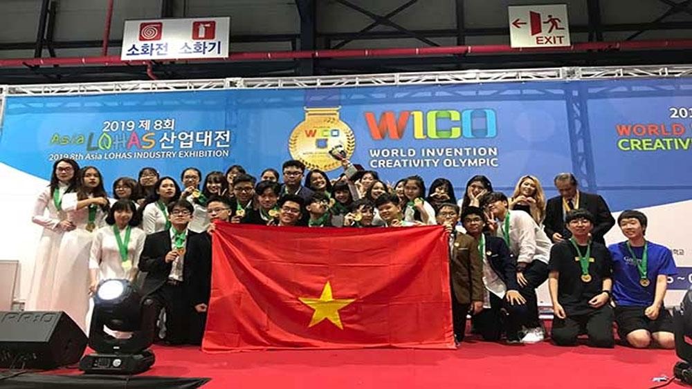 Học sinh Việt Nam, HCV Olympic Phát minh và sáng chế thế giới,