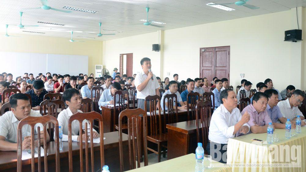 Đảng bộ Khối Doanh nghiệp tỉnh Bắc Giang, doanh nghiệp, chi  bộ, đảng bộ, đảng viên, Bắc Giang