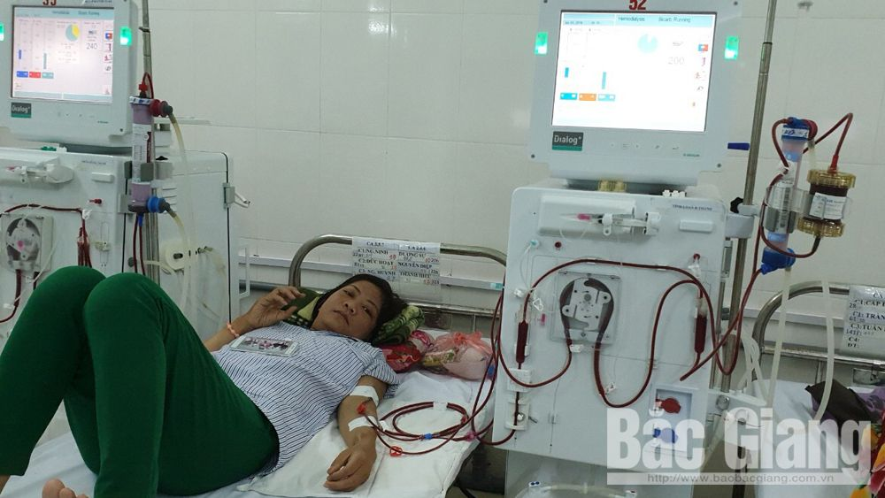 Bệnh viện Đa khoa tỉnh Bắc Giang triển khai kỹ thuật lọc máu hiện đại