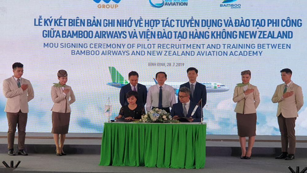 Khởi công, Viện Đào tạo hàng không Bamboo Airways, Tập đoàn FLC
