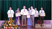 Thí sinh Đỗ Tất Nhiên giành giải Nhất Hội thi báo cáo viên giỏi huyện Lạng Giang