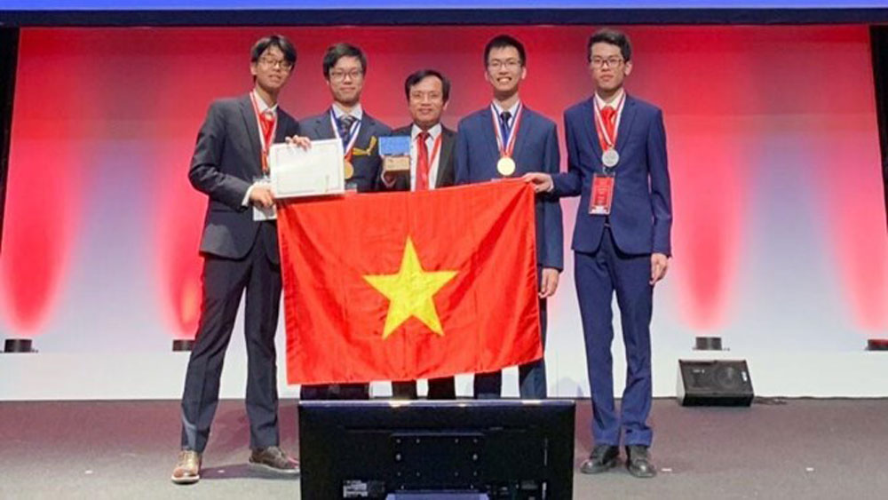 Vietnam, fifth place, 51st Int'l Chemistry Olympiad, gold medal, silver medal, fourth highest score, maximum score, Vietnamese contestant