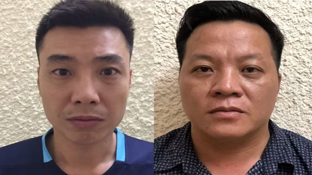 Ba nghi phạm, cưỡng đoạt tiền, 20 doanh nghiệp, Ngô Văn Hạ, Nguyễn Xuân Phong, Hoa Anh Tuấn