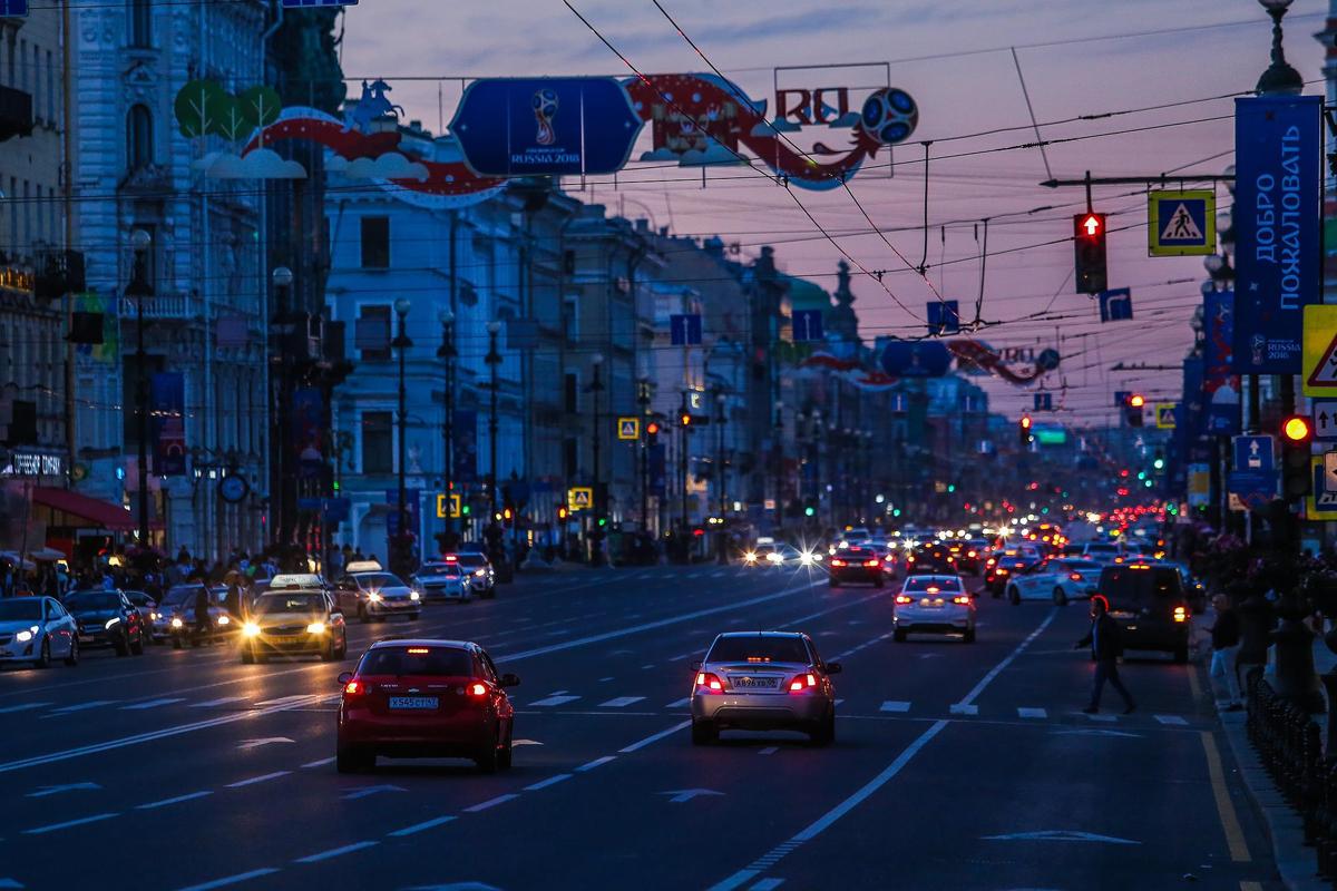 Chiêm ngưỡng, đêm trắng, độc đáo, nước Nga