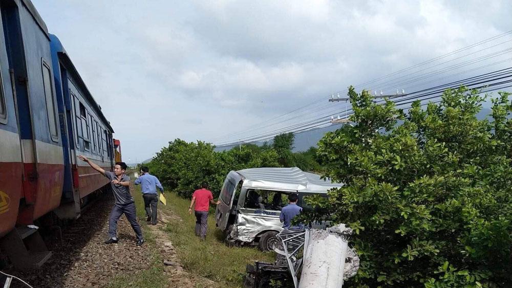 Bình Thuận, Tai nạn giao thông đường sắt, 4 người thương vong, Tàu SE 27