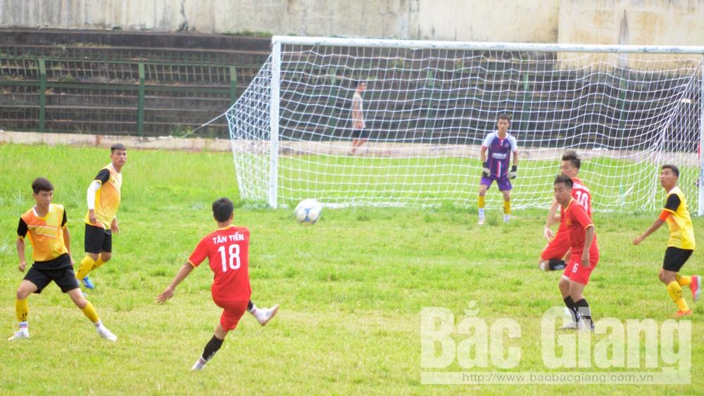 TP Bắc Giang, giải bóng đá, thanh niên, xã Tân Tiến vô địch