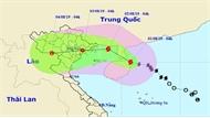 Tối 1-8, bão số 3 sẽ đi vào phía Bắc của vịnh Bắc Bộ và có khả năng mạnh thêm