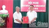 Thị trấn Nhã Nam (Tân Yên) có Bí thư Đảng ủy mới