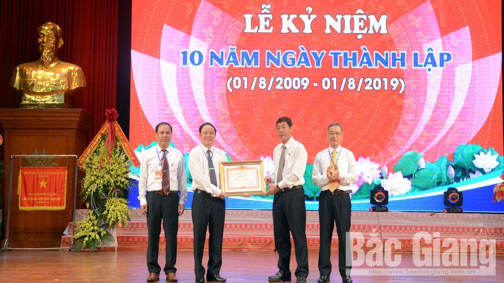 Đảng bộ Khối Doanh nghiệp tỉnh Bắc Giang kỷ niệm 10 năm thành lập 1-8 (2009-2019)