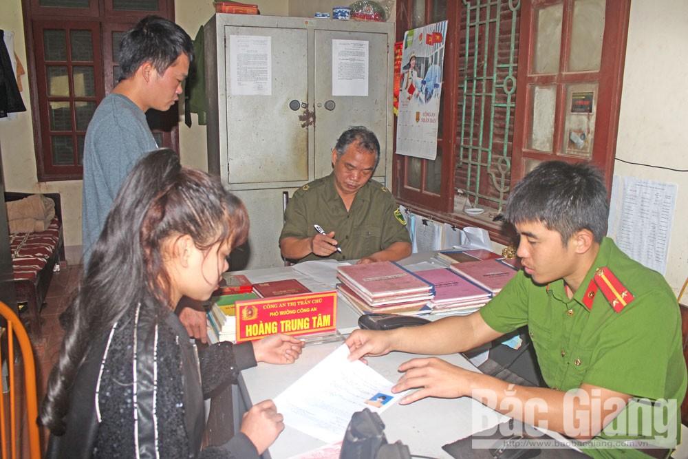 Bộ Công an, Công an tỉnh Bắc Giang