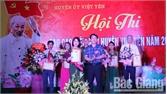 Huyện ủy Việt Yên tổ chức hội thi báo cáo viên giỏi