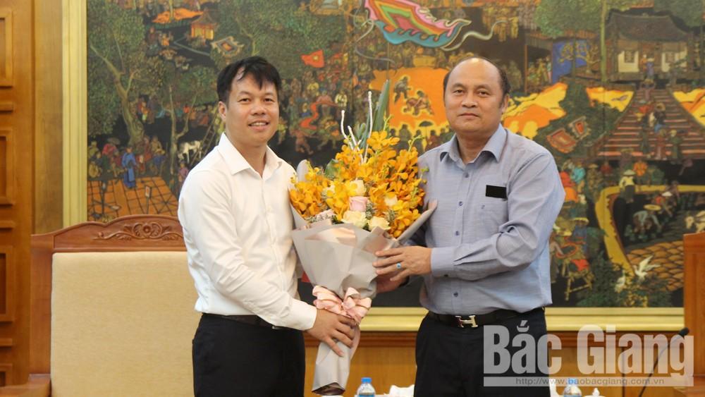 Văn phòng UBND tỉnh Bắc Giang, Nguyễn Việt Phong, bổ nhiệm nhân sự, công tác cán bộ