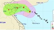 Chiều 2-8, bão số 3 giật cấp 12 đi vào vùng biển Quảng Ninh - Hải Phòng