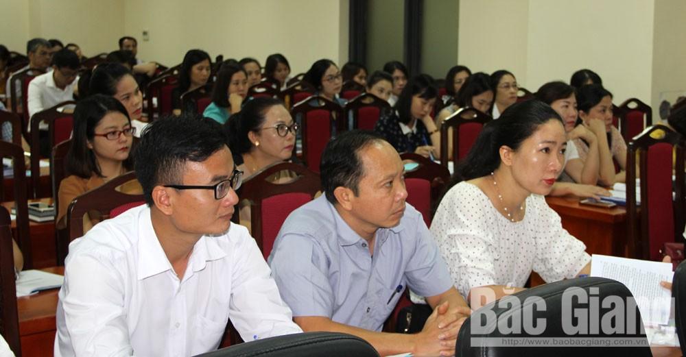 Sở Tư pháp tỉnh Bắc Giang, tập huấn, bảo hiểm xã hội