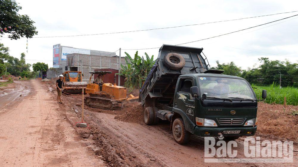 xây dựng nông thôn mới, nông thôn mới, Lạng Giang, Bắc Giang, tiêu chí nông thôn mới