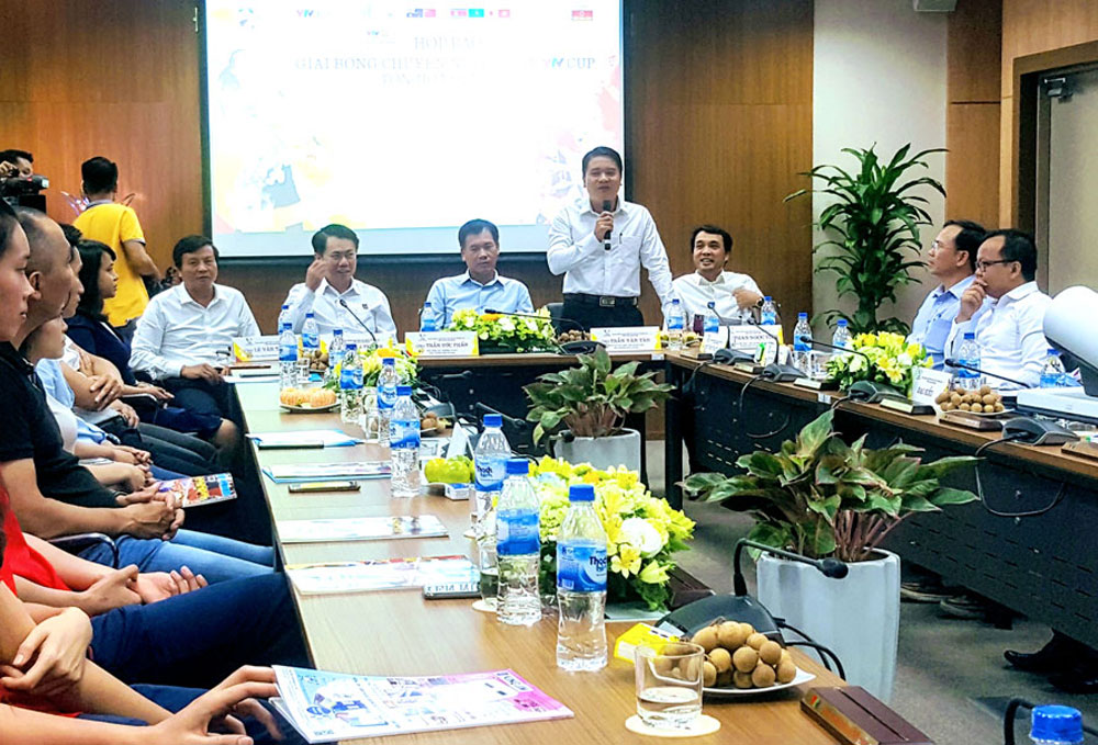 VTV int'l volleyball cup, seven competitors, Quang Nam province,Vietnam women's national squad, round robin format