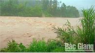 Ảnh hưởng của bão số 3: Bắc Giang có mưa lớn, chia cắt nhiều địa bàn