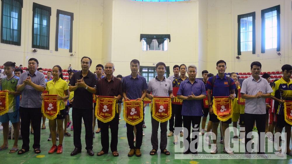 Tỉnh Bắc Giang, giải vô địch bóng bàn, 17 bộ huy chương, huyện Lục Nam