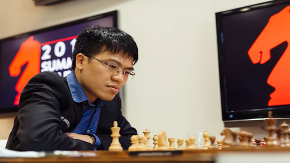 Liem struggles to hit his stride during Hunan Chess Open