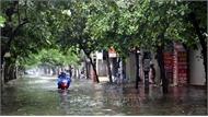 Áp thấp nhiệt đới suy yếu thành vùng áp thấp, mưa lớn diện rộng