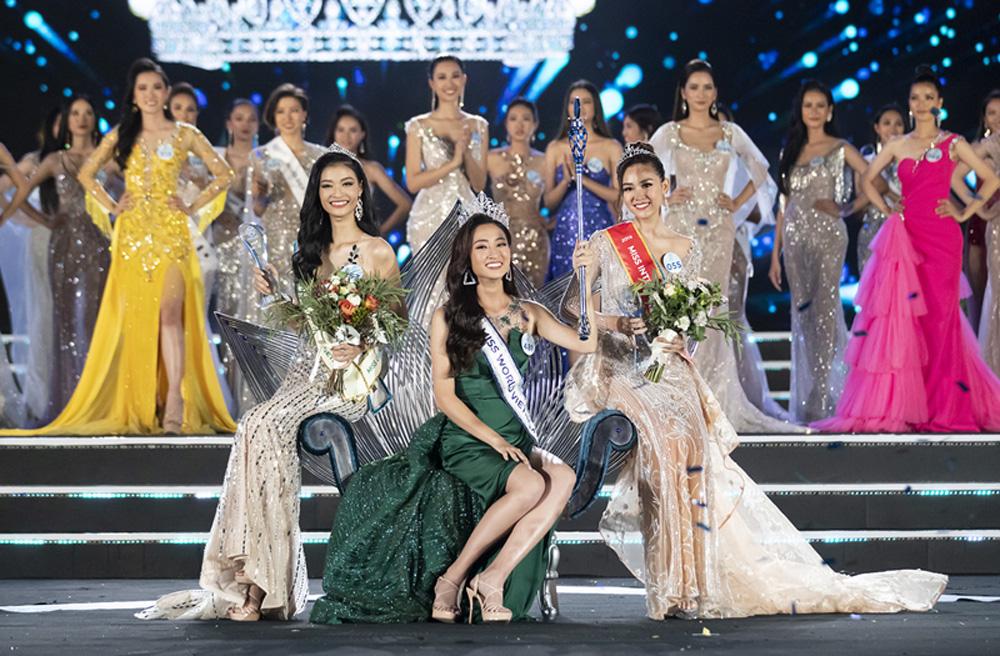 Lương Thùy Linh, Hoa hậu Thế giới Việt Nam, nữ sinh Đại học Ngoại thương, Cao Bằng, Đà Nẵng