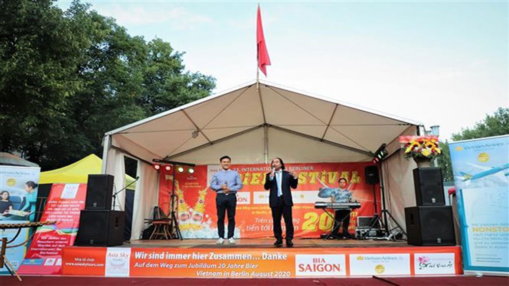 Vietnamese beer joins int'l beer festival in Berlin
