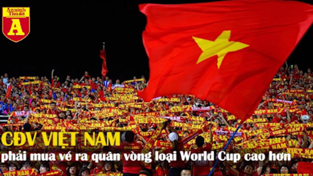 """Thái Lan bán vé giá """"chát"""" cho CĐV Việt Nam xem trận ở vòng loại WC 2022"""