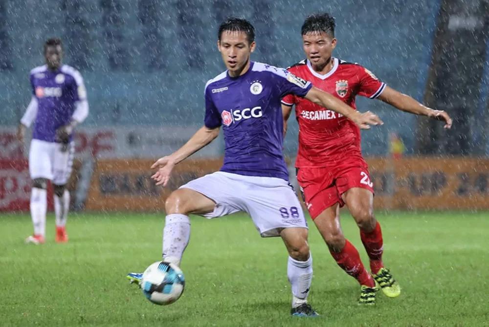 Quang Hải, Văn Quyết, Hà Nội, đỉnh bảng V-League, V-League 2019