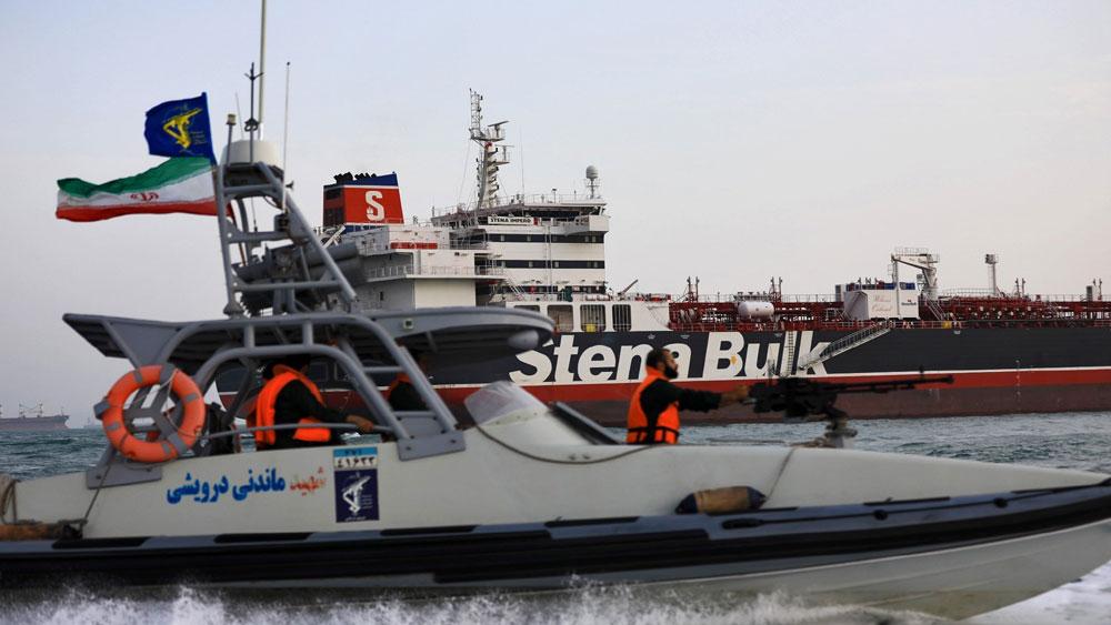 Iran, bắt giữ, một tàu chở dầu nước ngoài ở vùng Vịnh, IRGC, Stena Impero