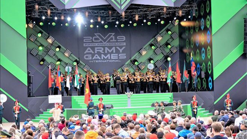 Vietnam attends International Army Games in Russia