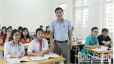 Thầy giáo của nhiều trò giỏi