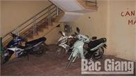 Bắc Giang: Truy tìm nhóm đối tượng đột nhập nhà trọ trộm cắp 5 xe máy