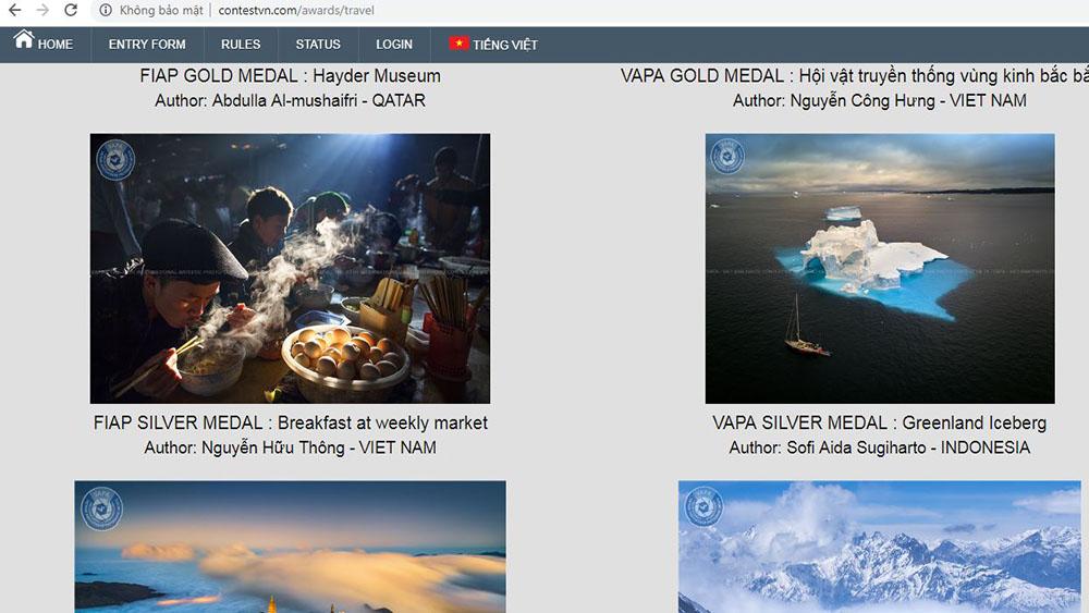 Thi ảnh nghệ thuật quốc tế, Liên đoàn Nhiếp ảnh Nghệ thuật thế giới, Hội Nghệ sĩ Nhiếp ảnh Việt Nam, Nguyễn Hữu Thông