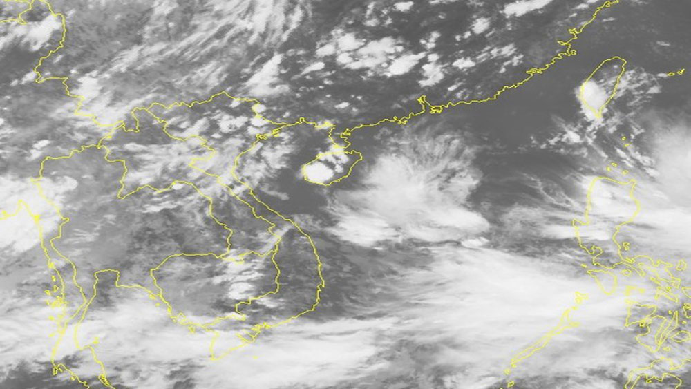 Xuất hiện vùng áp thấp mới trên Biển Đông
